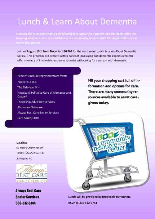 Caregiver Resource Panel1